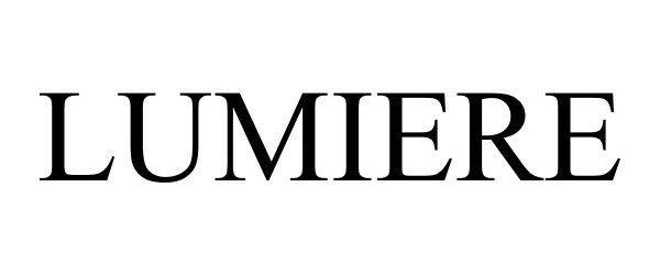 Trademark Logo LUMIERE