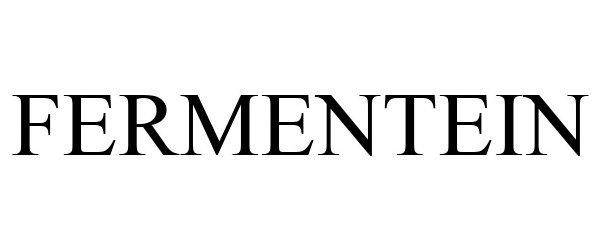 Trademark Logo FERMENTEIN