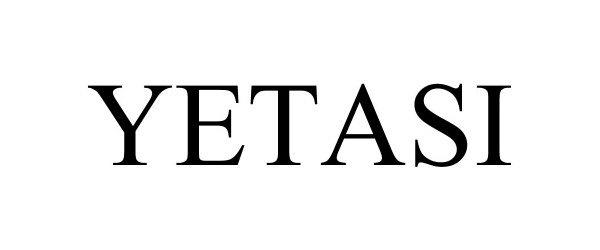 Trademark Logo YETASI