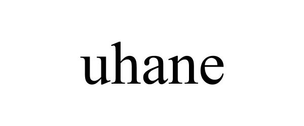 Trademark Logo UHANE
