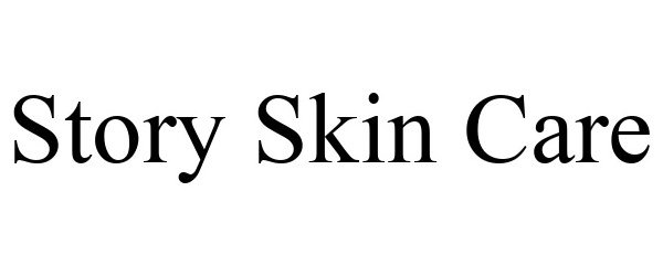Trademark Logo STORY SKIN CARE