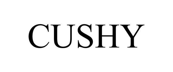 Trademark Logo CUSHY