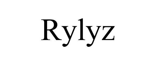 Trademark Logo RYLYZ