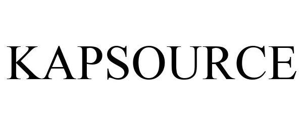 Trademark Logo KAPSOURCE