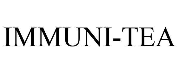 Trademark Logo IMMUNI-TEA