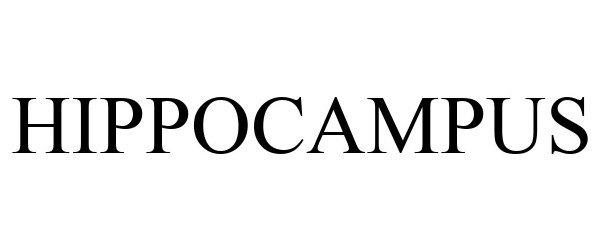 Trademark Logo HIPPOCAMPUS