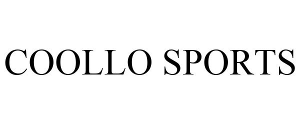 Trademark Logo COOLLO SPORTS