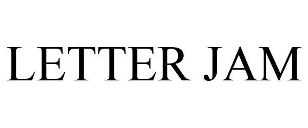 Trademark Logo LETTER JAM