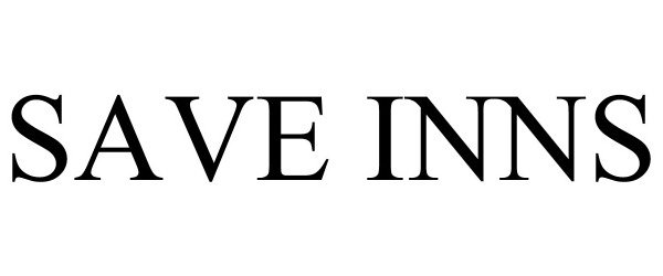 Trademark Logo SAVE INNS