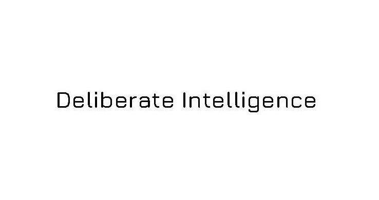 Trademark Logo DELIBERATE INTELLIGENCE