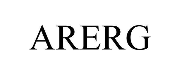 Trademark Logo ARERG