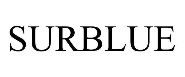 Trademark Logo SURBLUE