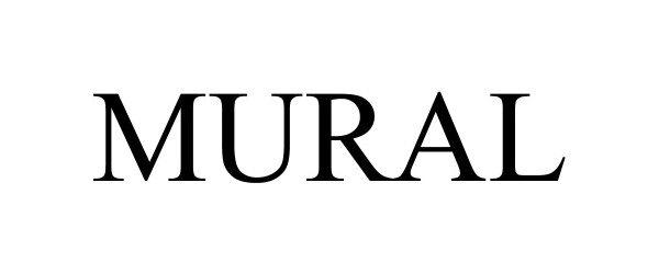 Trademark Logo MURAL