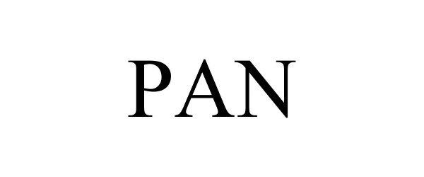 Trademark Logo PAN