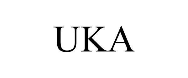 Trademark Logo UKA