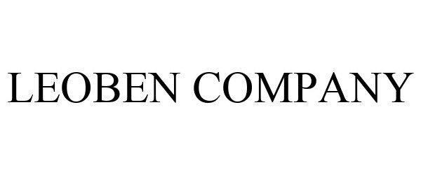 Trademark Logo LEOBEN COMPANY