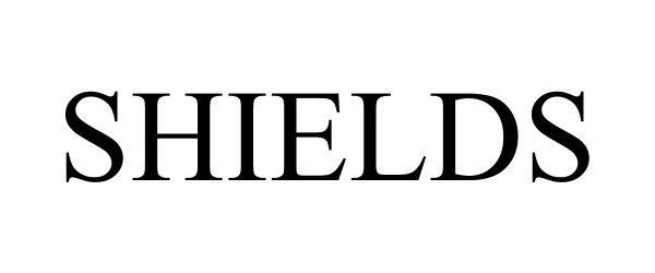 Trademark Logo SHIELDS