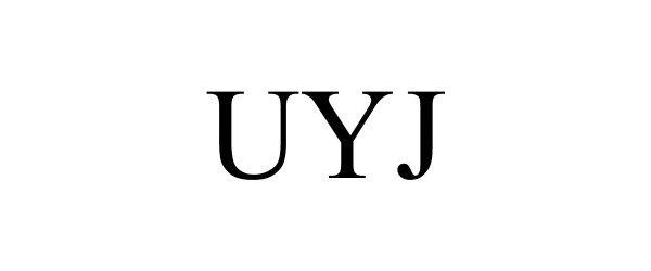 Trademark Logo UYJ