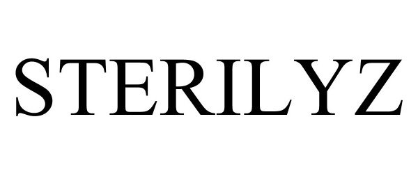 Trademark Logo STERILYZ