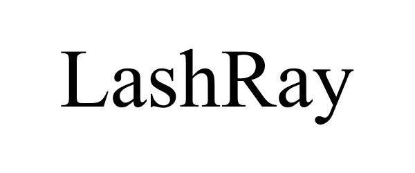 Trademark Logo LASHRAY