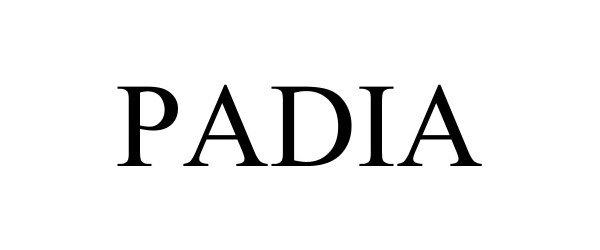 Trademark Logo PADIA