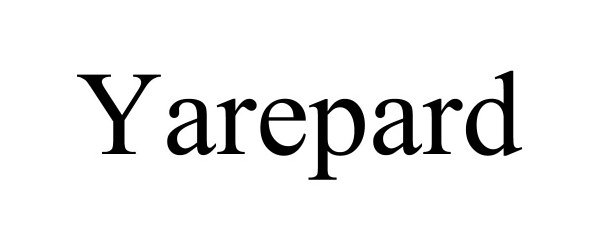 Trademark Logo YAREPARD