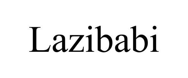 Trademark Logo LAZIBABI