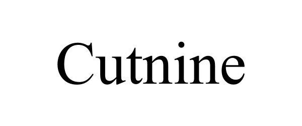 Trademark Logo CUTNINE