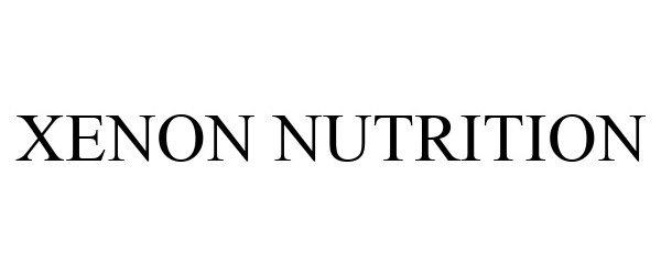 Trademark Logo XENON NUTRITION