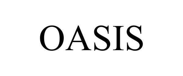Trademark Logo OASIS