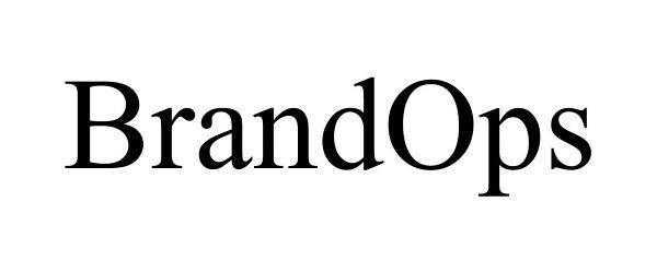 Trademark Logo BRANDOPS