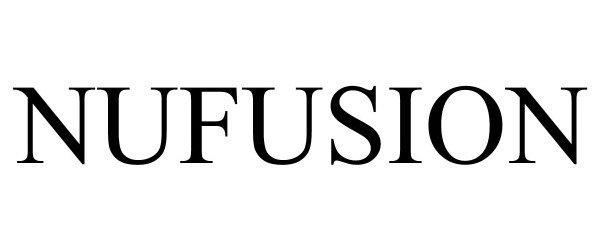 Trademark Logo NUFUSION