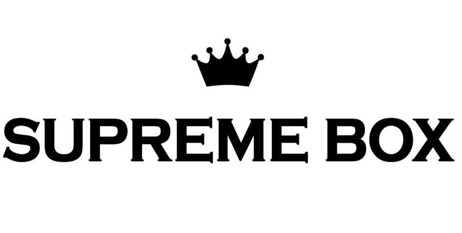 Trademark Logo SUPREME BOX