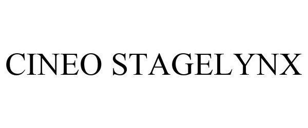 Trademark Logo CINEO STAGELYNX