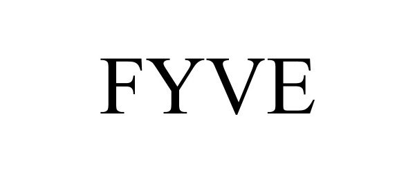 Trademark Logo FYVE