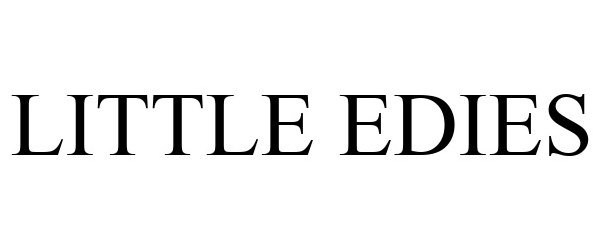 Trademark Logo LITTLE EDIES