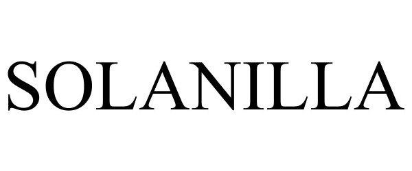 Trademark Logo SOLANILLA