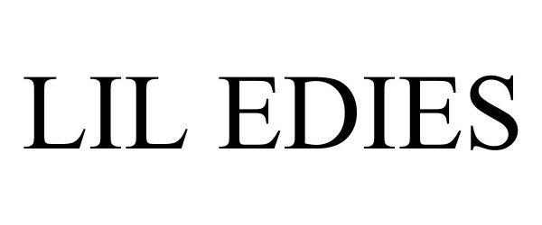 Trademark Logo LIL EDIES