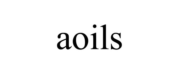 Trademark Logo AOILS