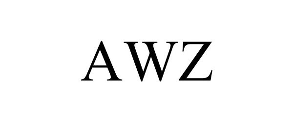 Trademark Logo AWZ