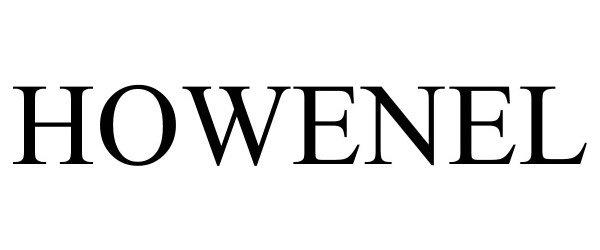 Trademark Logo HOWENEL