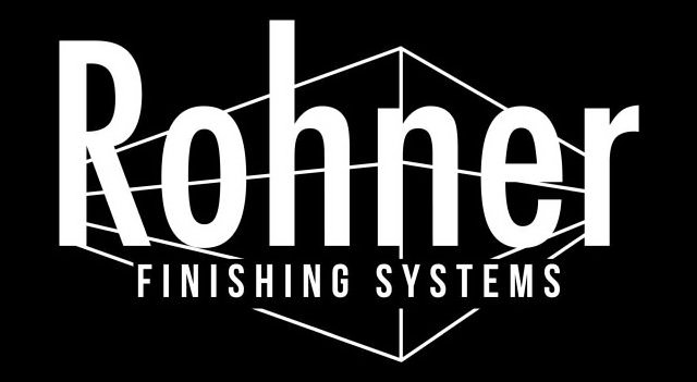 Trademark Logo ROHNER FINISHING SYSTEMS