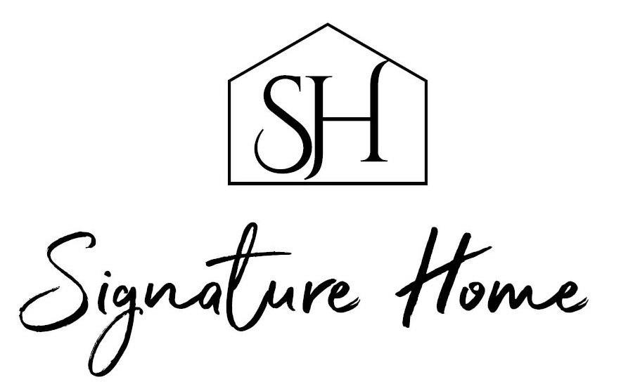 Trademark Logo SH SIGNATURE HOME
