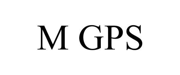 Trademark Logo M GPS