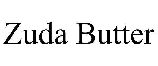 Trademark Logo ZUDA BUTTER
