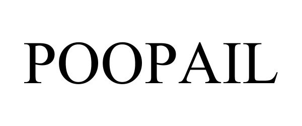Trademark Logo POOPAIL