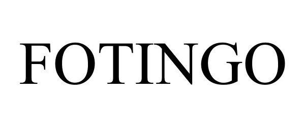 Trademark Logo FOTINGO