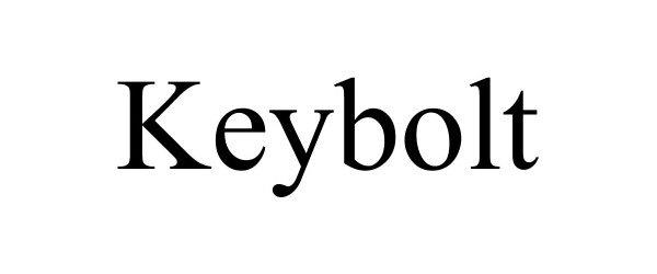 Trademark Logo KEYBOLT