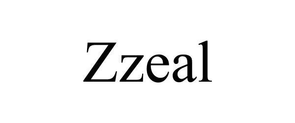 Trademark Logo ZZEAL
