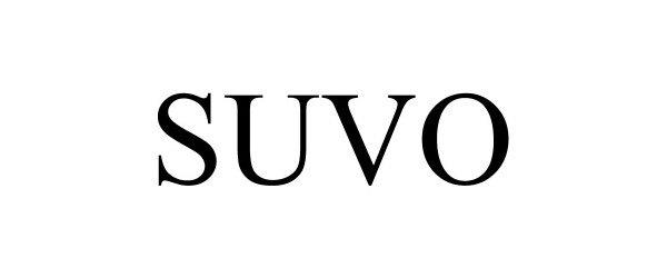 Trademark Logo SUVO